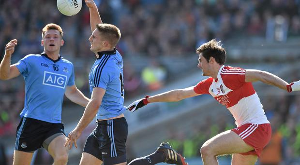Dublin outclassed Derry in Sunday's League final