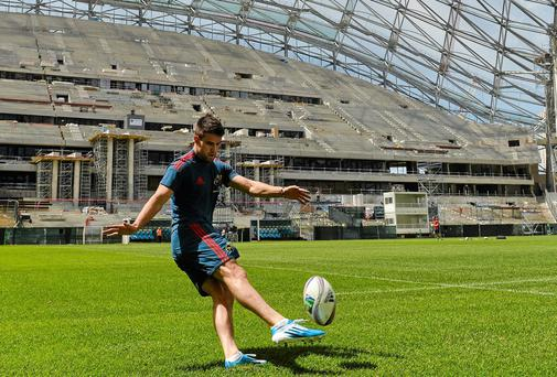Munster's Conor Murray during the Munster squad Captain's Run