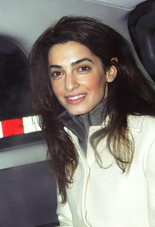 File photo dated 7/2/2011 of Amal Alamuddin. According to reports the human rights lawyer has got engaged to Hollywood heartthrob George Clooney. PRESS ASSOCIATION Photo. Issue date: Monday April 28, 2014. The Oxford-educated barrister, who has represented WikiLeaks founder Julian Assange, has been described as a