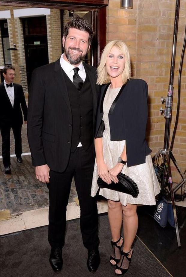 Keating and her partner cinematographer John Conroy attended the annual BAFTA Television Craft Awards at the weekend, with Conroy nominated for Best Photography and Lighting in fictional works. (Photo: Twitter/Yvonne Keating)