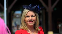 RTE's Eileen Whelan at the 2014 Punchestown racing festival Photo: Gareth Chaney Collins