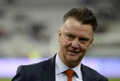 Netherlands' coach Louis van Gaal