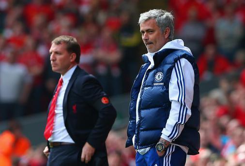 Brendan Rodgers and Jose Mourinho could face off in a tv studio