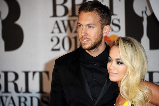 Rita Ora and Calvin Harris (Photo by Anthony Harvey/Getty Images)