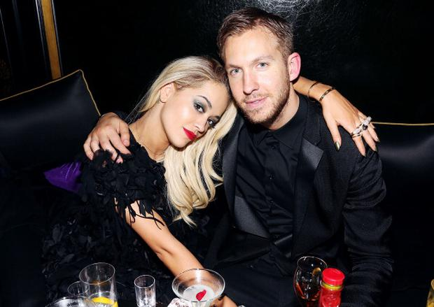 Rita Ora and Calvin Harris (Photo by David M. Benett/Getty Images for Three Six Zero-Nokia MixRadio)