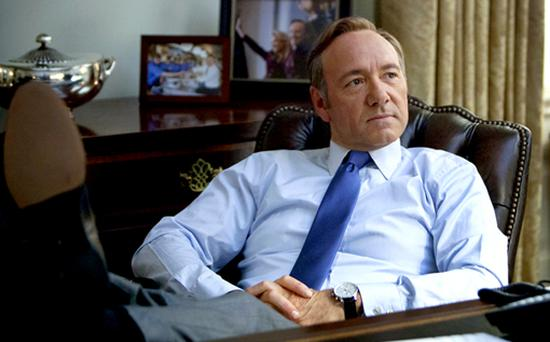 Kevin Spacey in 'House of Cards'
