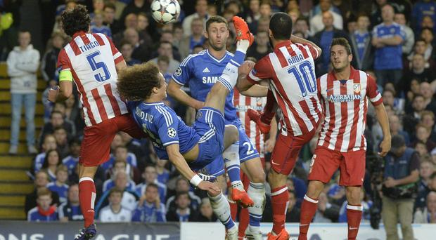 Chelsea and Atletico Madrid in action in the Champions League. Julian Jenkins has claimed an Irish team would have a strong chance of figuring in a European Super League if there was ever a breakaway from the Champions League.