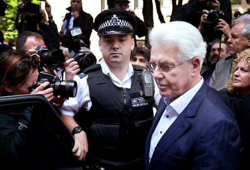 Publicist Max Clifford has been found guilty of eight indecent assaults on women and girls as young as 15 by a jury at Southwark Crown Court. Getty Images