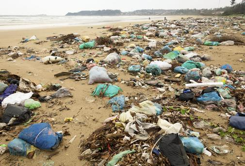 Plastic bags, discarded fishing nets and other examples of human litter are to be found in many parts of the ocean floor Photo: THINKSTOCK