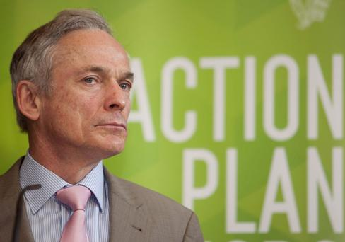 Minister Richard Bruton stated that he was shocked at the trends so far.