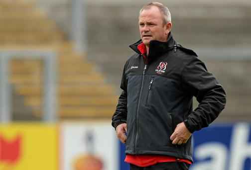 Ulster's head Coach Mark Anscombe