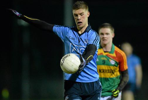 Shane Carthy is seen as a future senior midfielder for Dublin. Photo: Matt Browne / SPORTSFILE