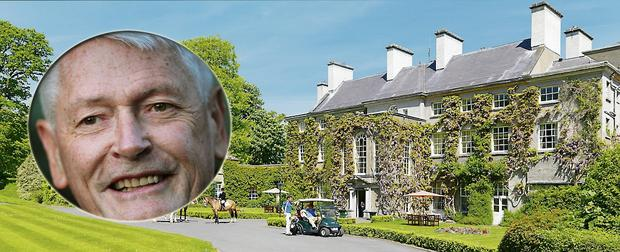 John Malone (inset) is rumoured to be interested in buying Mount Juliet