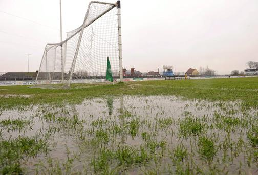 Waterlogged pitches suited Mikey Muddy