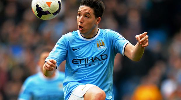 Samir Nasri is hoping to capture a second Premier League title. Photo: Shaun Botterill/Getty Images