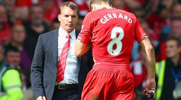 Steven Gerrard's mistake cost Liverpool against Chelsea. Photo: Clive Brunskill/Getty Images