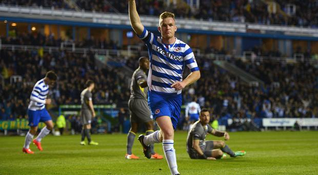 Alex Pearce's Reading know that a victory will guarantee the final play-off place in the Championship. Photo: Michael Regan/Getty Images