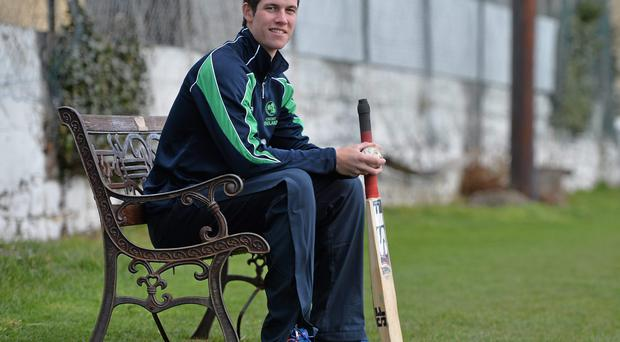 George Dockrell is in the Leinster Lightning team for today's match against North West Warriors