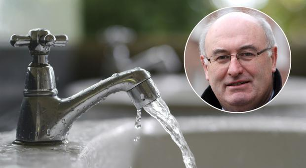 Water network is to get a €200m upgrade over the next two years, inset, Minister for the Environment Phil Hogan