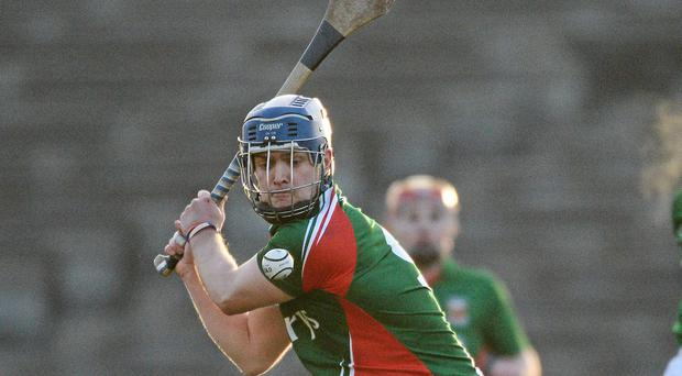 Kenny Feeney scored twelve points for Mayo against Armagh at McHale Park yesterday