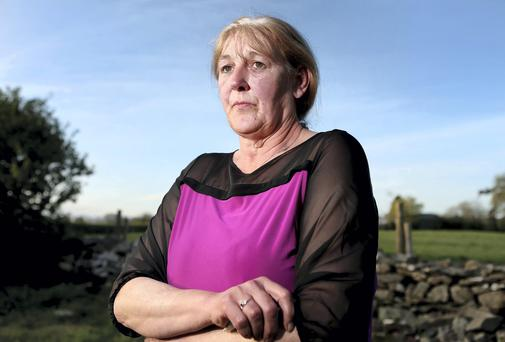 Helen McKendry, daughter of murdered Belfast womand Jean McConville, pictured at her home near Downpatrick in Co Down. Picture: GERRY MOONEY