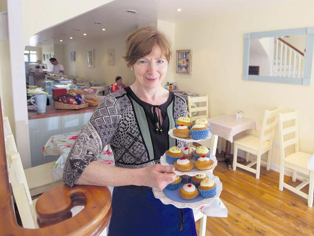 Finola O'Doherty of the Bluebell Cafe, Castlemartyr, Co. Cork. Picture: Michael Mac Sweeney/Provision