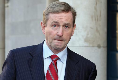 Taoiseach Enda Kenny has a lot more today