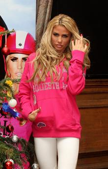 Katie Price has revealed she is pregnant with her fifth child