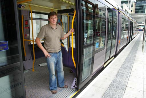 Galen English on the LUAS KOB 11/7/4