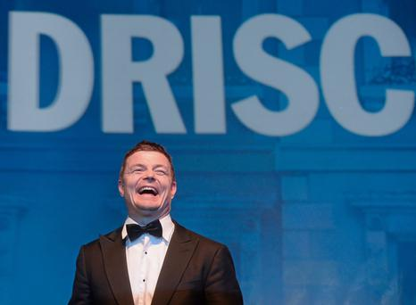Brian O'Driscoll during the Leinster Rugby Awards Ball. Picture: Stephen McCarthy / SPORTSFILE