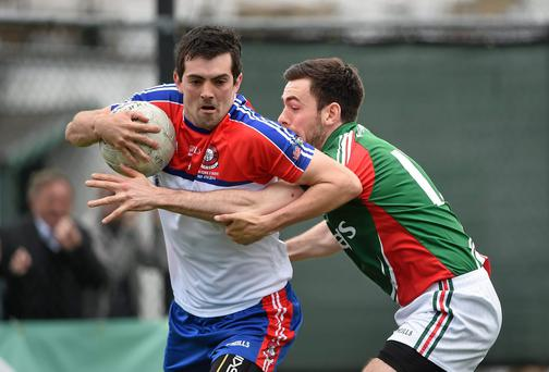 New York in action against Mayo last year