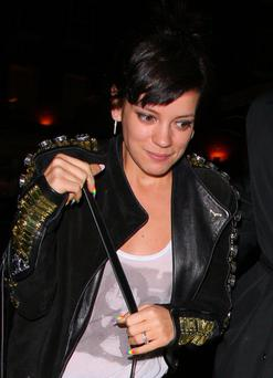 Lily Allen (Photo by Mark Robert Milan/GC Images)