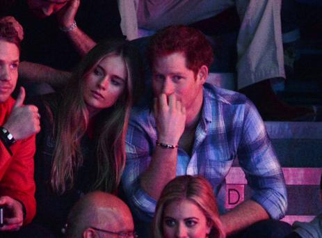 Cressida Bonas and Prince Harry pictured in March, 2014 (Photo by Karwai Tang/WireImage)