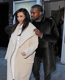 Kim Kardashian and Kanye West (Photo by NCP/Star Max/GC Images)