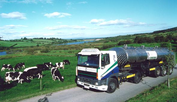 Lakeland Dairies is a cross-border co-operative.