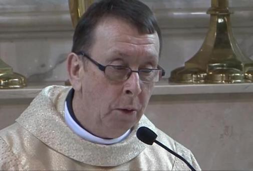 Fr Ray Kelly: has been known to burst into song during weddings