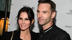 Director Courteney Cox and Musician Johnny McDaid
