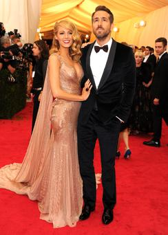 Blake Lively and Ryan Reynolds attend the
