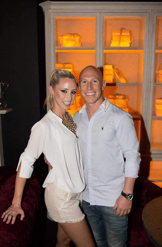 Debbie O 'Leary and Peter Stringer Nadia Forde's birthday party at House Leeson St.