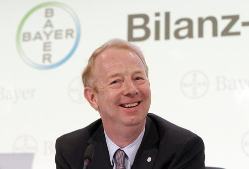 Marijn Dekkers, CEO of German pharmaceuticals and chemicals giant Bayer