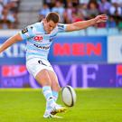 Johnny Sexton in action for Racing Metro