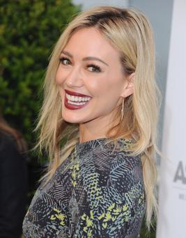 Actress Hilary Duff arrives at The American Society For The Prevention Of Cruelty To Animals Celebrity Cocktail Party on May 6, 2014 in Beverly Hills, California. (Photo by Jon Kopaloff/FilmMagic)
