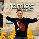 Jamie Oliver during a surprise visit to his Italian Restaurant in Dundrum