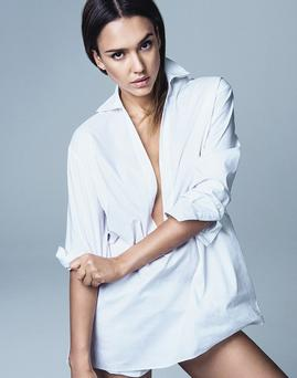 Jessica Alba is the cover star of the new issue of Glamour magazine. Picture: Glamour magazine