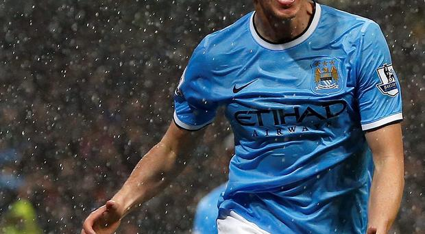 Manchester City's Edin Dzeko has scored vital goals in the title run in