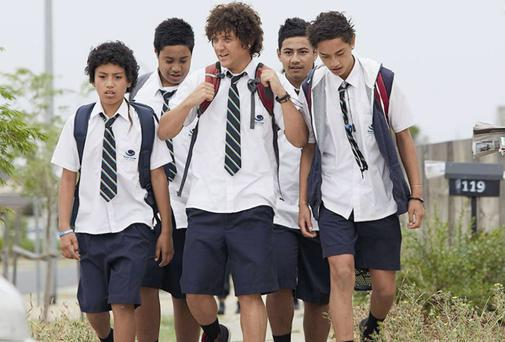 Jonah From Tonga is a spoof documentary series following the exploits of rebellious Sydney teenager Jonah Takalua, played by immensely talented writer and star Chris Lilley