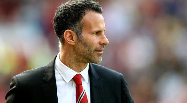 Ryan Giggs, the Manchester United interim manager