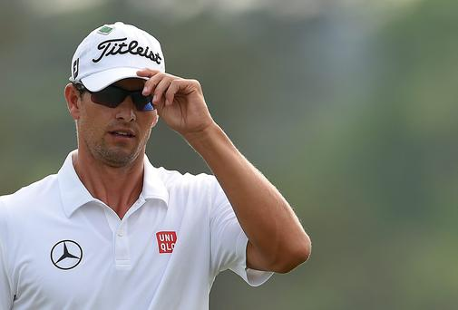 Adam Scott of Australia (Photo EMMANUEL DUNAND/AFP/Getty Images)
