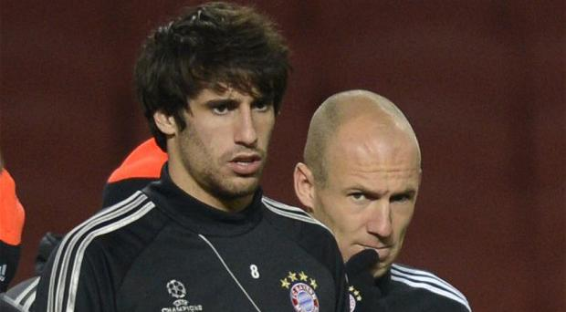 Javi Martinez has become disillusioned with his role at Bayern Munich this season under Pep Guardiola Photo: AFP / GETTY