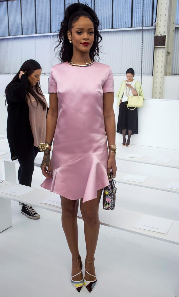 Dior Cruise Fashion Show  Rihanna